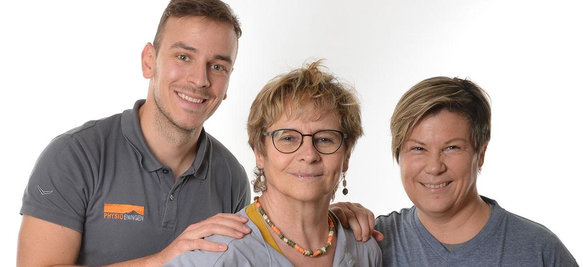 Das #teamBGM von PHYSIOEningen